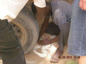 Verteilung - Reis geht nicht verloren