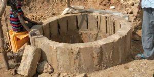 Brunnenbau ist eine Lebensgrundlage