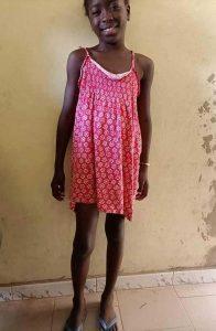 Fatou GUETT (Mädchen *19.3.2012)